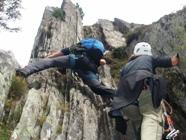 Klettersteig Diavolo : Klettersteig diavolo