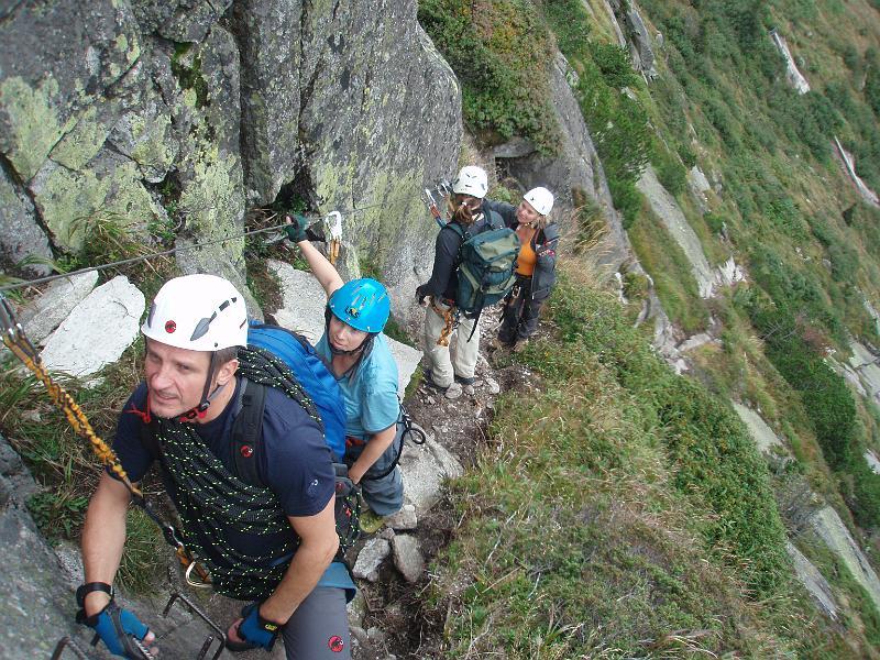 Klettersteig Diavolo : 2009 09 19 andermattt klettersteig diavolo p9190224
