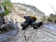 Klettersteig Via Kapf : Klettersteige götzis a