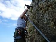 Klettersteig Speer : Speer m via klettersteig