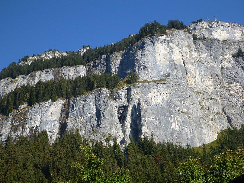 Klettersteig Flims : 2. oktober 2011 flims pinut klettersteig p1090210