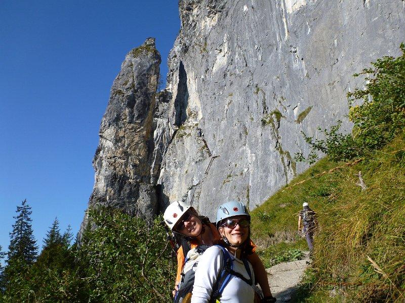 Klettersteig Flims : 2. oktober 2011 flims pinut klettersteig p1090213