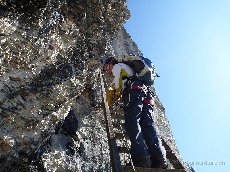 Klettersteig Flims : 2. oktober 2011 flims pinut klettersteig p1090273