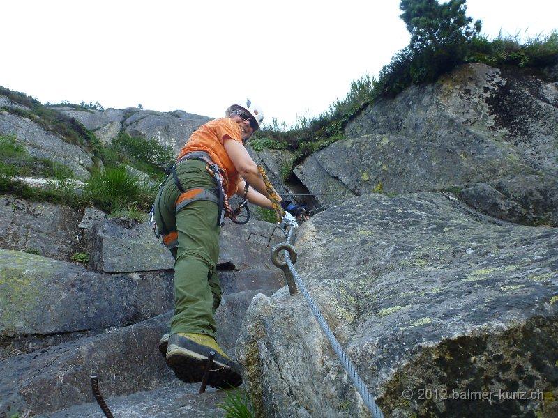 Klettersteig Andermatt : 1. august 2012 klettersteig diavolo andermatt p1150869