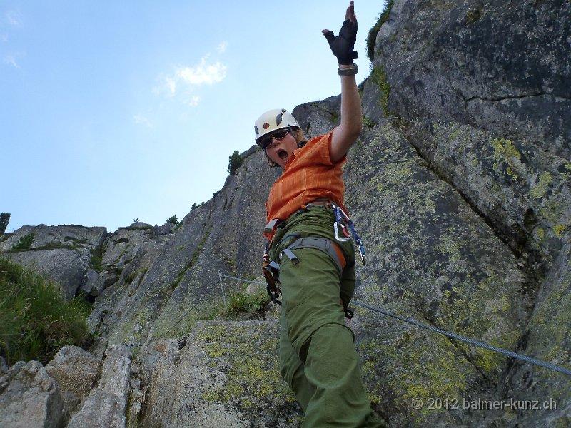 Klettersteig Andermatt : 1. august 2012 klettersteig diavolo andermatt p1150889