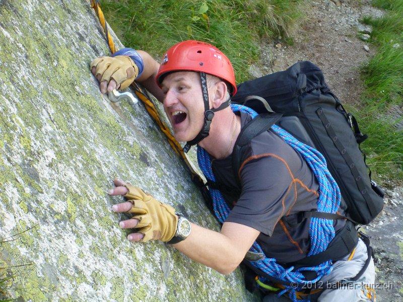 Klettersteig Andermatt : 1. august 2012 klettersteig diavolo andermatt p1150895
