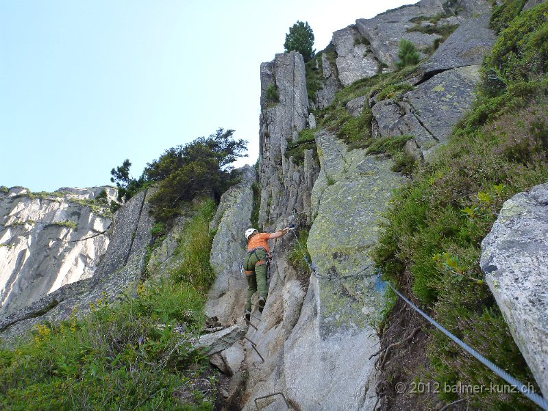 Klettersteig Andermatt : 1. august 2012 klettersteig diavolo andermatt p1150901