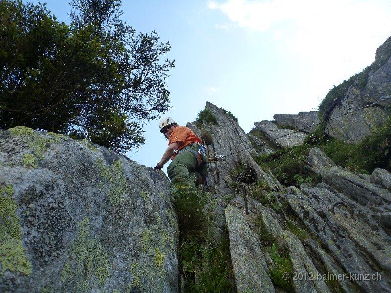 Klettersteig Andermatt : Hindelanger klettersteig ab euro pro person die bergschule